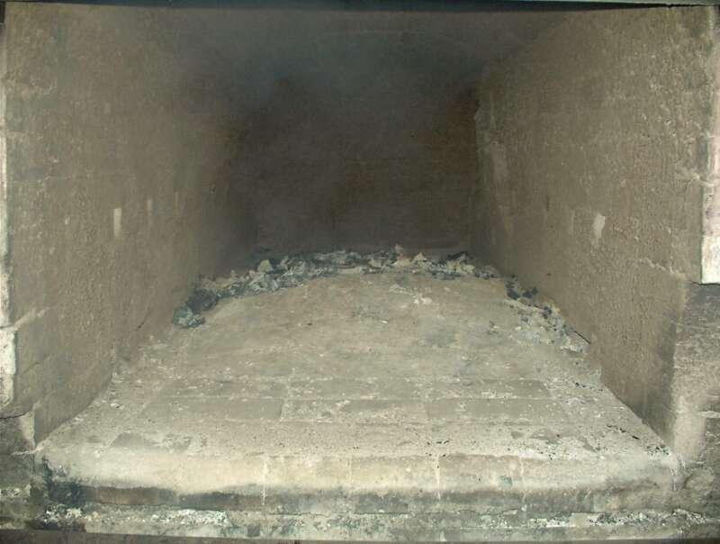 Cremación de restos cadavéricos (Etapa 9 - Remoción)